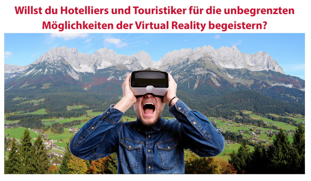 New job position: Sales representative for VR in the hospitality sector