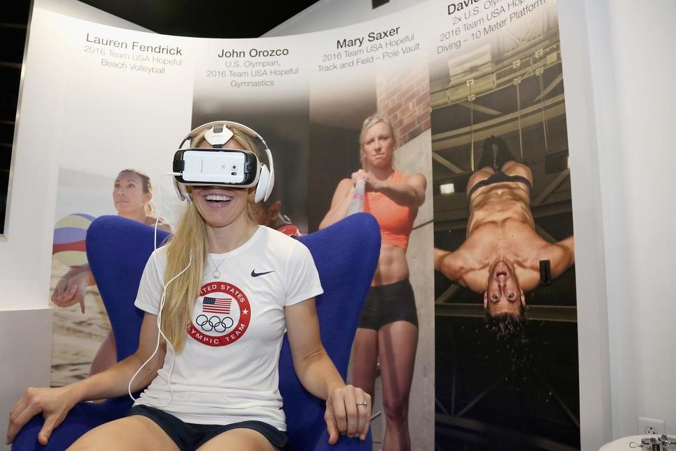 VR at Olympia - Olympic Games enthusiasts can be as close as never before to the athletes – even without entering a stadium or sports venue