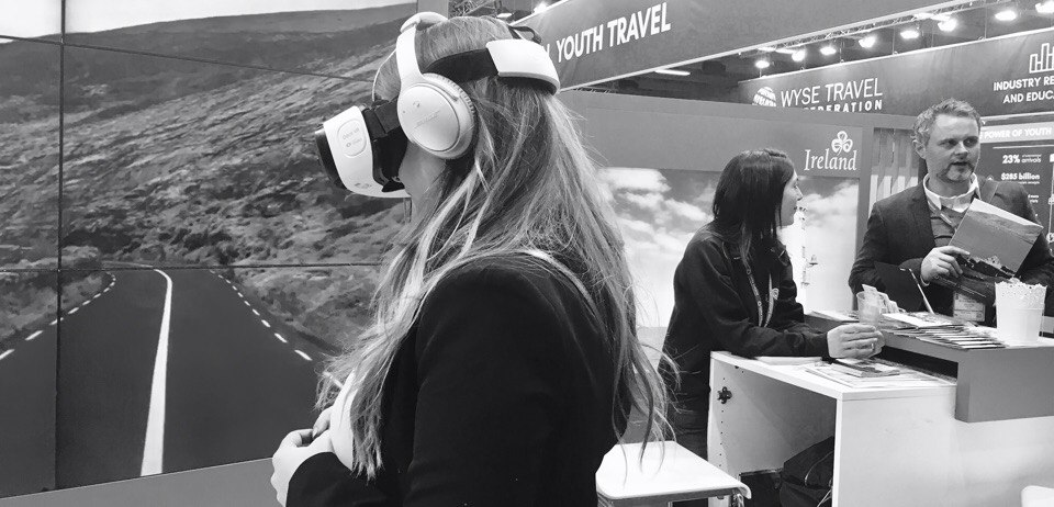Innovative destinations using VR at ITB 2017