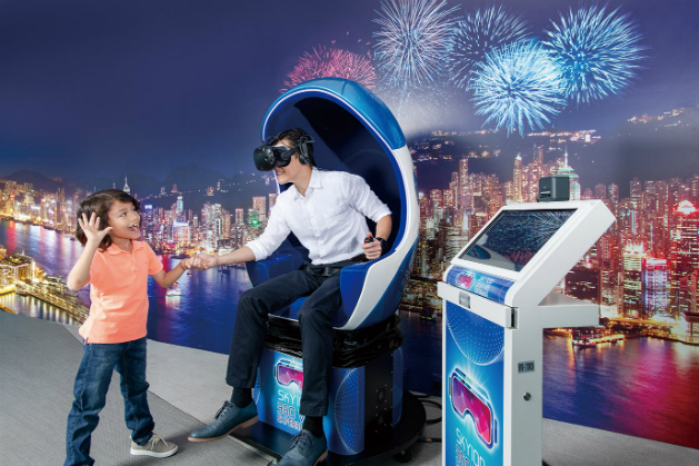VR Time Travel (Photo © sky100.com.hk)